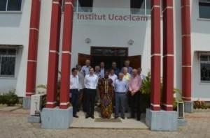 Photo famille  Audace et développement à l'Institut Ucac-icam