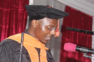 P. Aubin Fossouo, SJ, directeur des études de l'Institut Ucac-Icam