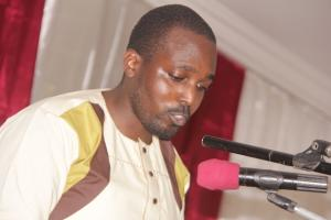 Franck Sipowa, président en exercice de l'association des Alumni